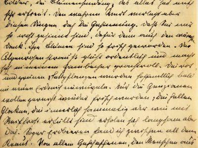 Love letter, German forms of cursive, Kurrentschrift 1908